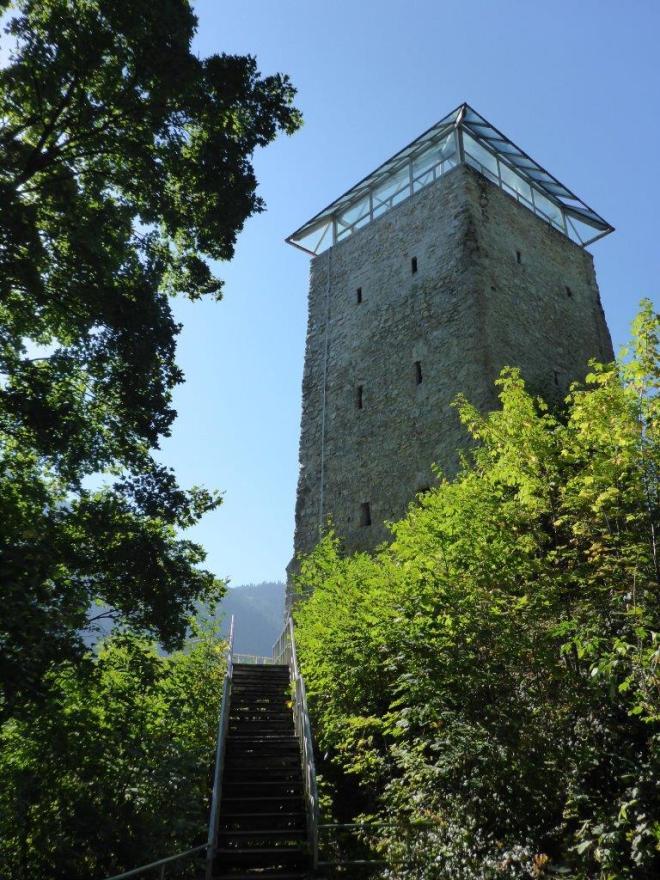 Black tower in Brasov
