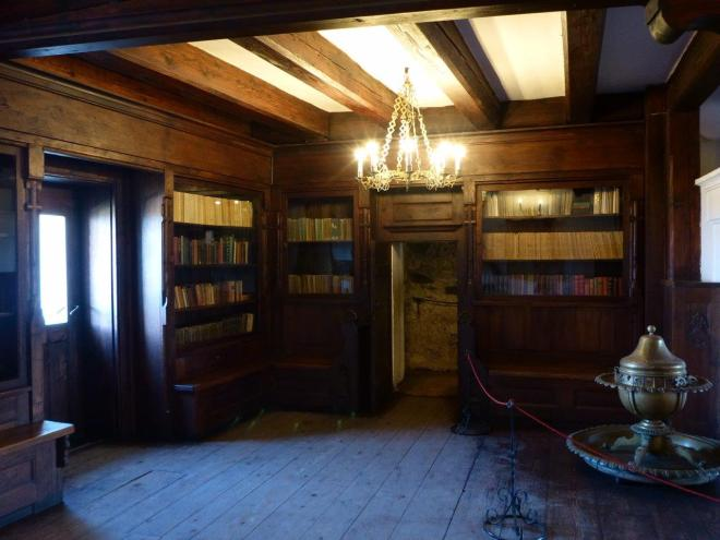 The library in Bran Castle