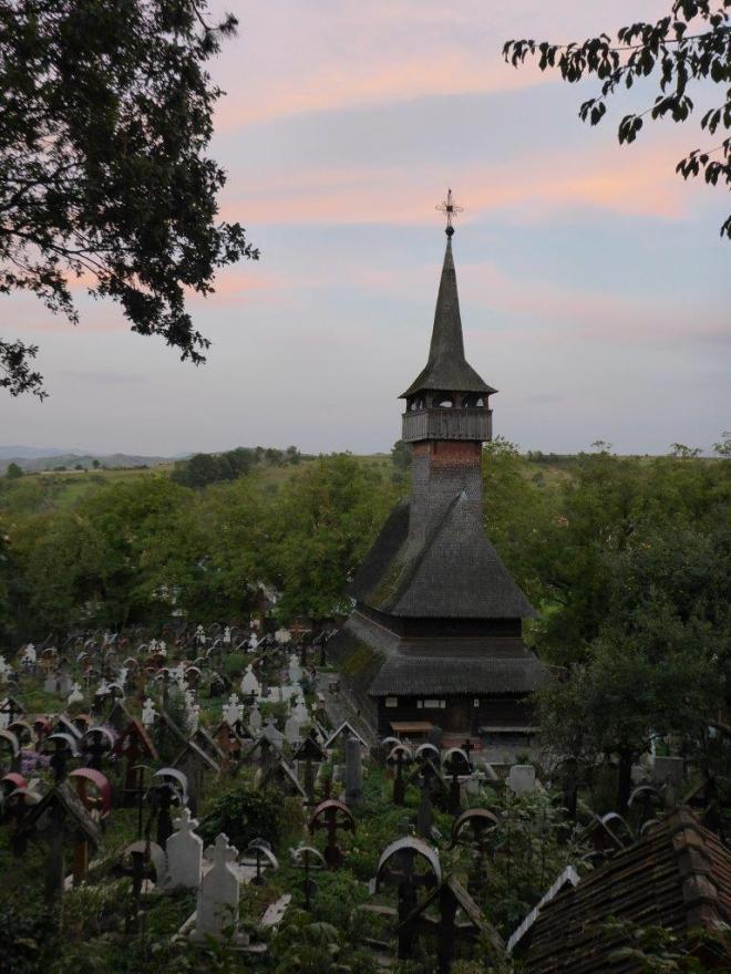 Ieud is one of The wooden Churches of Maramureş, Romania on the UNESCO World Heritage list