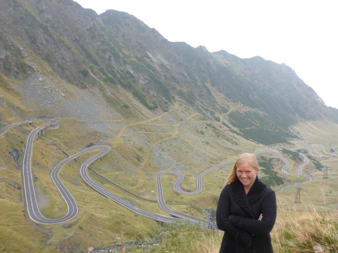 The Transfagarasan Highway in Romania