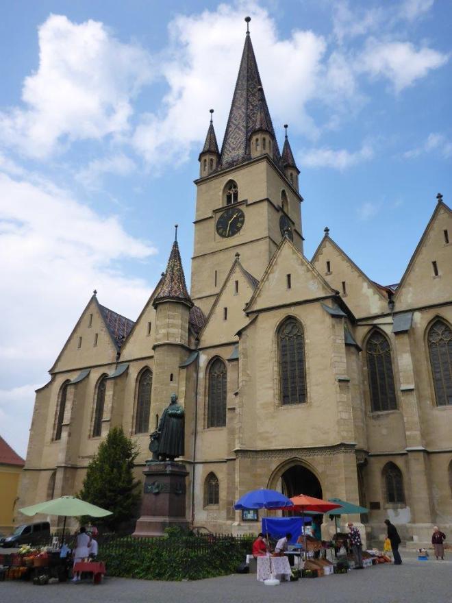 The Evangelic Church in Sibiu, Romania