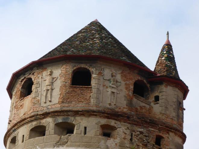 The tower of Bethlen castle in Cris