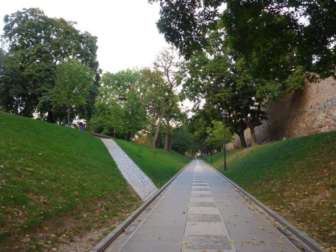 Walk of Fame in Sibiu, Romania