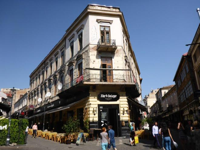 Old Town in Bucharest, Romania (2)