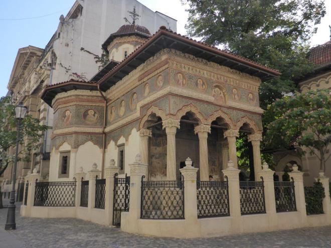 The Stavropoleos Church in Bucharest, Romania