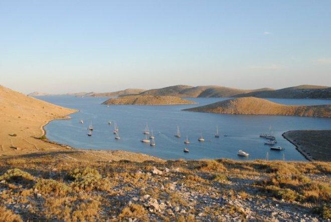 Bay of Kornat Island. Kornati, Croatia