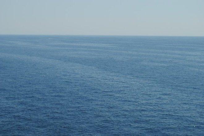 Clear blue water. Kornati, Croatia