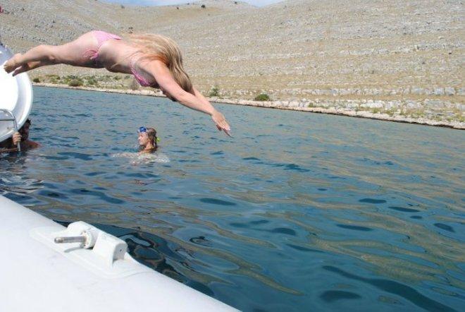 Dive in! Kornati islands, Croatia