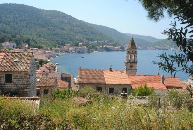 Island views, Vis Island, Croatia