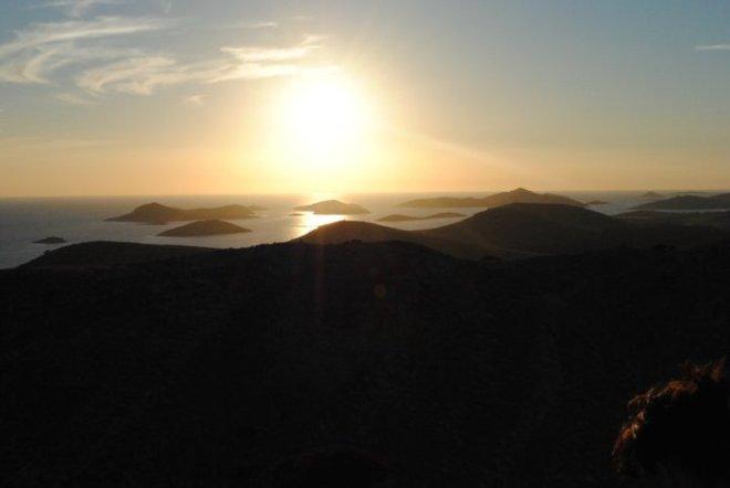 Kornati island sunset, Croatia
