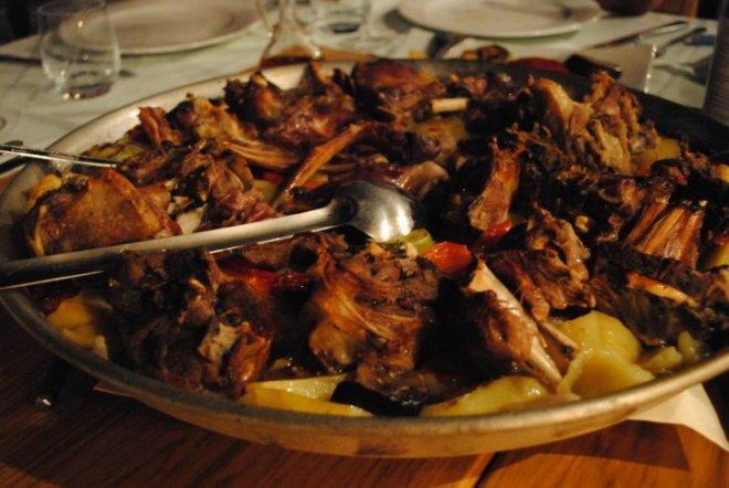 Peka lamb. A MUST try local food when in Croatia. Kornati, Croatia