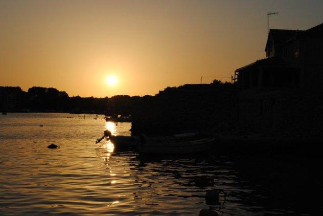 Prvic Luka on Prvic island, Croatia