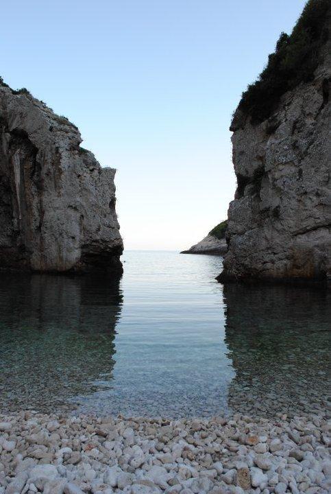 Stiniva bay at Vis island, Croatia
