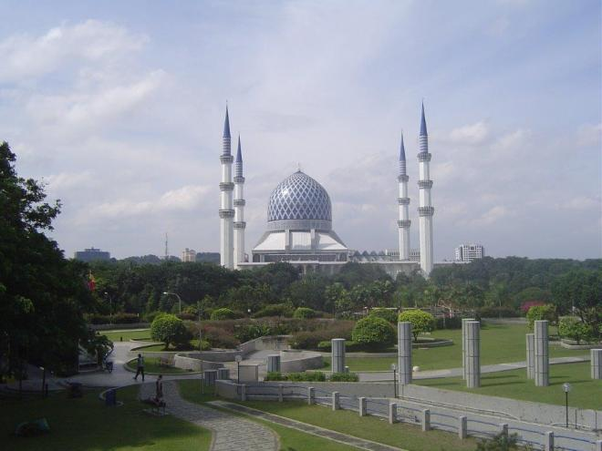 Sultan Salahuddin Abdul Aziz Mosque, Shah Alam, Selangor, Malaysia