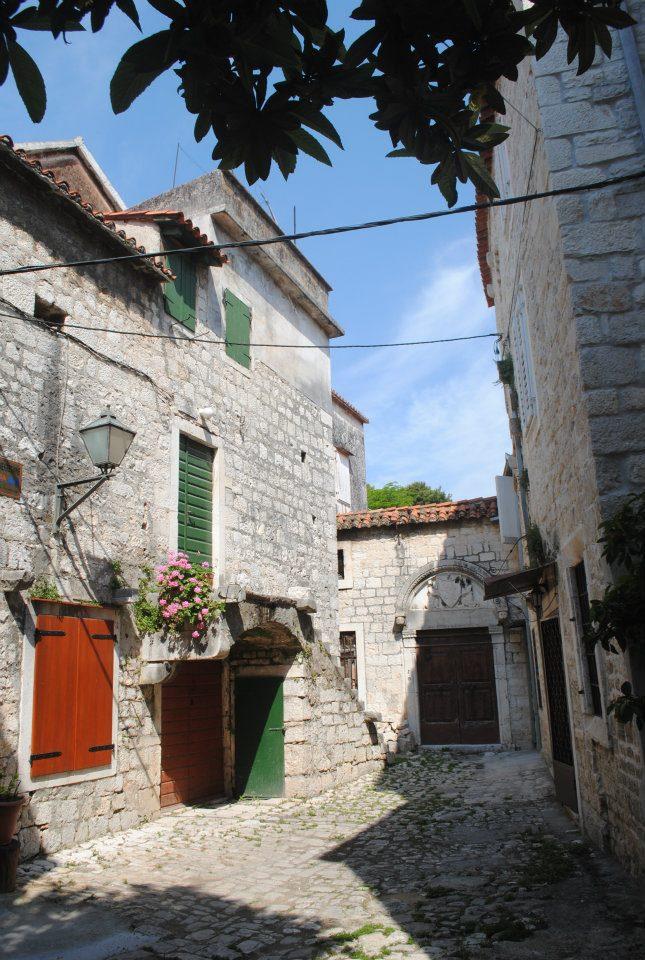 Trogir houses, Croatia