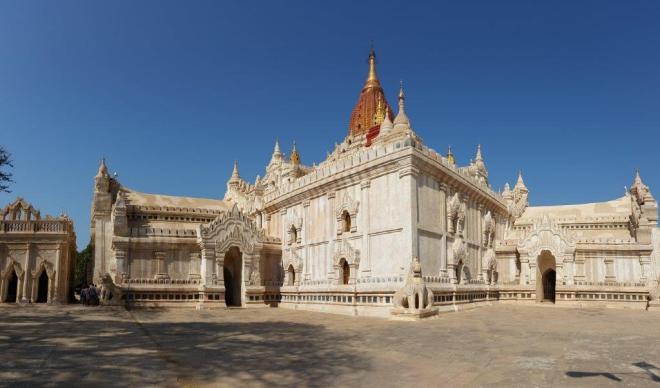 Ananda Phaya, Bagan, Myanmar