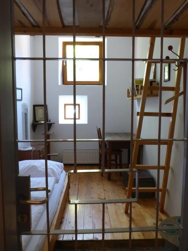 Cell 101 at Hostel Celica in Ljubljana, Slovenia