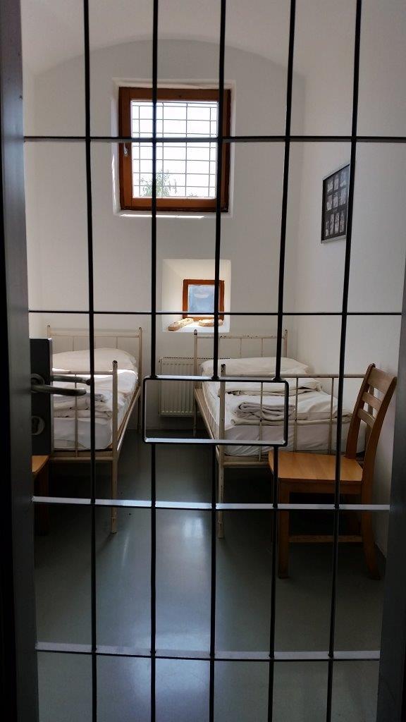 Cell 118 at Hostel Celica in Ljubljana, Slovenia