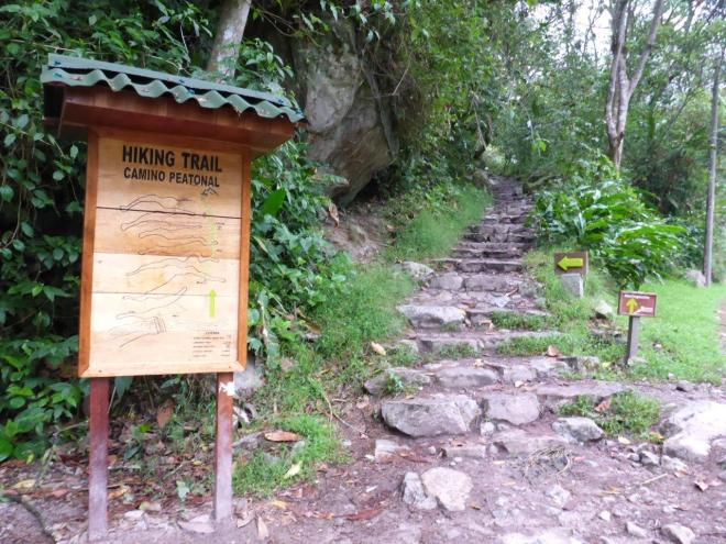 Hike the Camino Peatonal to Machu Picchu. Peru