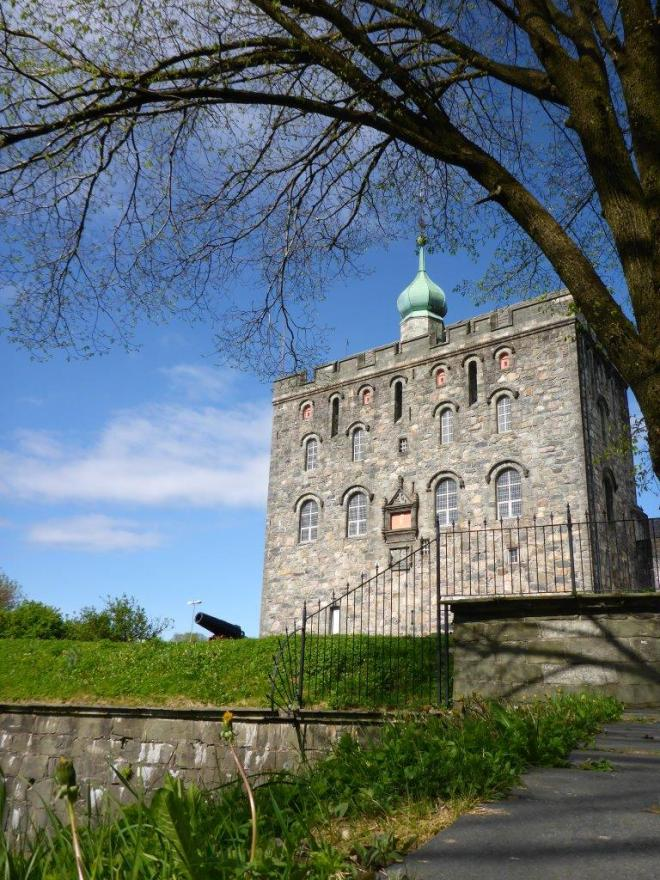 Rosenkrantz Tower in Bergen, Norway