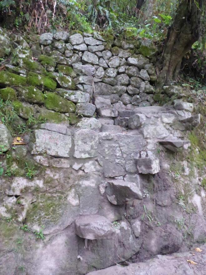 Up we go! Hike the Camino Peatonal to Machu Picchu. Peru