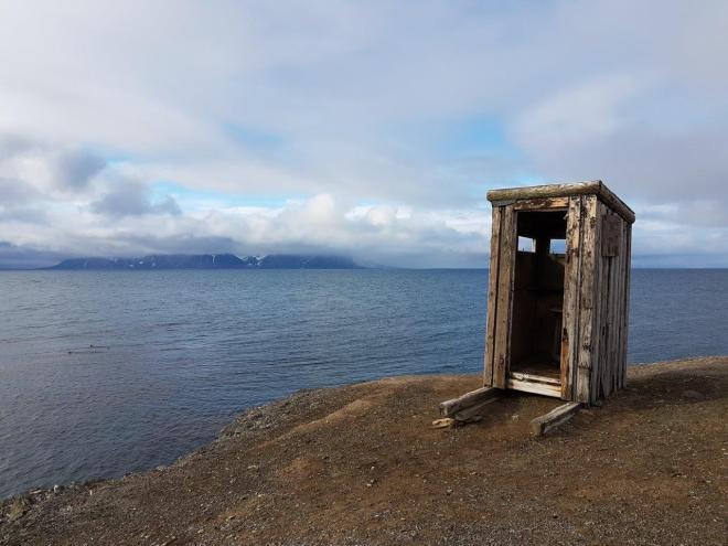 Nice view at Isfjord Radio, Svalbard, Norway.