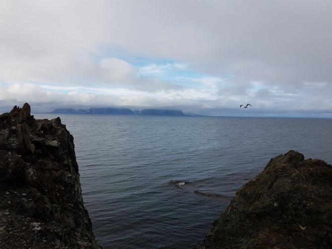 Seaview at Isfjord Radio, Svalbard, Norway.