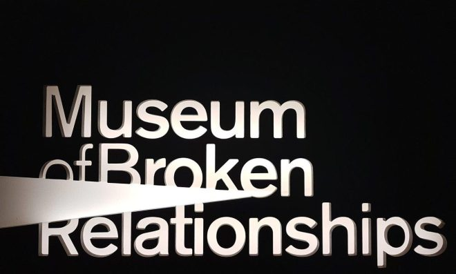 The Museum of Broken Relationships. Zagreb, Croatia.